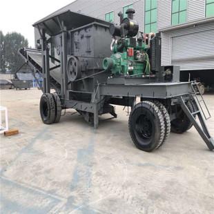 处理能力超强的移动破碎机,可以轻松处理建筑垃圾问题,改善环境!